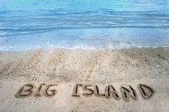 μεγάλες άμμοι νησιών νησιών Στοκ εικόνα με δικαίωμα ελεύθερης χρήσης