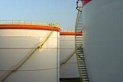 μεγάλες δεξαμενές πετρ&epsil στοκ εικόνες με δικαίωμα ελεύθερης χρήσης