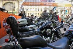 Μεγάλες σέλες των μοτοσικλετών στοκ φωτογραφία με δικαίωμα ελεύθερης χρήσης