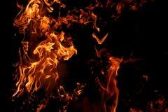 μεγάλες φλόγες Στοκ φωτογραφίες με δικαίωμα ελεύθερης χρήσης