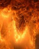 μεγάλες φλόγες Στοκ Εικόνες