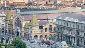 Μεγάλη αίθουσα αγοράς της Βουδαπέστης, Βουδαπέστη, Ουγγαρία στοκ φωτογραφίες