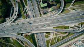 Μεγάλη αστική οδική σύνδεση απόθεμα βίντεο