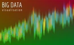 Μεγάλη διανυσματική σύνθετη απεικόνιση ροής στοιχείων Στοκ φωτογραφίες με δικαίωμα ελεύθερης χρήσης
