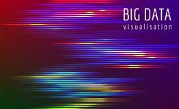 Μεγάλη διανυσματική σύνθετη απεικόνιση ροής στοιχείων Στοκ φωτογραφία με δικαίωμα ελεύθερης χρήσης