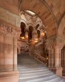 Μεγάλη δυτική σκάλα στο κράτος της Νέας Υόρκης Capitol στοκ φωτογραφία με δικαίωμα ελεύθερης χρήσης