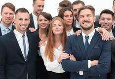 Μεγάλη επιχειρησιακή ομάδα των επαγγελματιών Στοκ φωτογραφία με δικαίωμα ελεύθερης χρήσης
