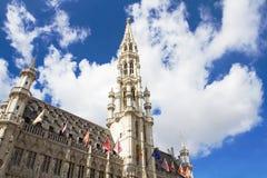 μεγάλη θέση των Βρυξελλών Στοκ Εικόνες