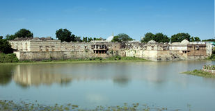 μεγάλη Ινδία όψη roja του Ahmedabad sarkhej Στοκ εικόνες με δικαίωμα ελεύθερης χρήσης