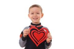 μεγάλη καρδιά αγοριών Στοκ εικόνες με δικαίωμα ελεύθερης χρήσης