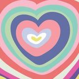 μεγάλη καρδιά χρώματος Στοκ φωτογραφία με δικαίωμα ελεύθερης χρήσης