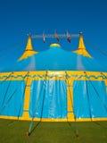 Μεγάλη κορυφαία σκηνή τσίρκων Στοκ Εικόνες