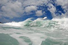 μεγάλη κυματωγή αέρα wipeout Στοκ φωτογραφίες με δικαίωμα ελεύθερης χρήσης