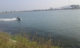 Μεγάλη λίμνη σε Odisa στοκ φωτογραφίες
