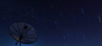 μεγάλη μαύρη νύχτα πέρα από το &de Στοκ εικόνες με δικαίωμα ελεύθερης χρήσης