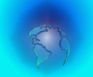 μεγάλη μπλε γη Στοκ Εικόνα