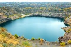 Μεγάλη μπλε λίμνη ραδονίου στοκ φωτογραφίες με δικαίωμα ελεύθερης χρήσης