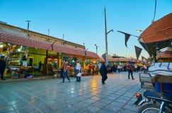 Μεγάλη οδός αγοράς, Kerman, Ιράν Στοκ φωτογραφία με δικαίωμα ελεύθερης χρήσης