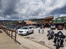 Μεγάλη οδός λιμνών στο Κολοράντο το καλοκαίρι Στοκ Φωτογραφία
