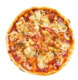 μεγάλη πίτσα Στοκ Φωτογραφίες