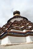 μεγάλη παγόδα Θιβέτ Στοκ Φωτογραφίες