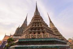 Μεγάλη παγόδα σε Wat Phra Chettuphon Wimon Mangkhalaram Ratchaworamahawihan Wat Pho Στοκ φωτογραφίες με δικαίωμα ελεύθερης χρήσης