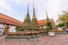 Μεγάλη παγόδα σε Wat Phra Chettuphon Wimon Mangkhalaram Ratchaworamahawihan Wat Pho Στοκ εικόνες με δικαίωμα ελεύθερης χρήσης