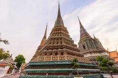Μεγάλη παγόδα σε Wat Phra Chettuphon Wimon Mangkhalaram Ratchaworamahawihan Wat Pho Στοκ Εικόνες