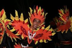μεγάλη παρέλαση χορευτών &k Στοκ Εικόνες