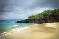 Μεγάλη παραλία - Maui Στοκ Φωτογραφία