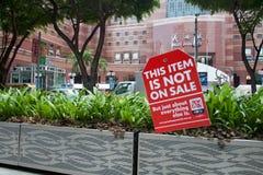μεγάλη πώληση Σινγκαπούρη αφισών Στοκ Εικόνες