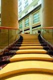 μεγάλη σκάλα ξενοδοχείω Στοκ Εικόνες
