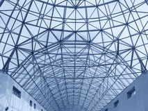 μεγάλη στέγη κατασκευής Στοκ φωτογραφία με δικαίωμα ελεύθερης χρήσης