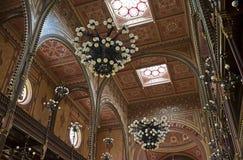 μεγάλη συναγωγή της Βουδαπέστης Ουγγαρία Στοκ εικόνες με δικαίωμα ελεύθερης χρήσης