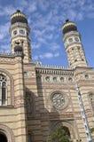 μεγάλη συναγωγή της Βουδαπέστης Στοκ φωτογραφίες με δικαίωμα ελεύθερης χρήσης