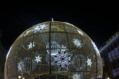 Μεγάλη σφαίρα Χριστουγέννων στοκ εικόνες