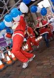 μεγάλη φυλή πουτίγκας Χριστουγέννων Στοκ εικόνα με δικαίωμα ελεύθερης χρήσης