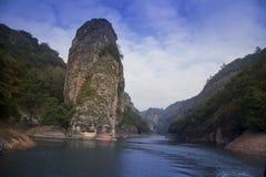 Μεγάλη χρυσή λίμνη, επαρχία Fujian Στοκ εικόνες με δικαίωμα ελεύθερης χρήσης