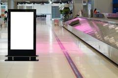 Μεγάλη LCD διαφήμιση υποβάθρου στοκ εικόνες