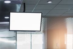 Μεγάλη LCD διαφήμιση υποβάθρου στοκ εικόνες με δικαίωμα ελεύθερης χρήσης