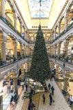 Μεγάλη Plaza λεωφόρος αγορών του Άμστερνταμ Στοκ Εικόνες