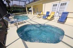 μεγάλη pool spa κολύμβηση Στοκ Εικόνες