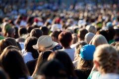 μεγάλοι άνθρωποι πλήθου&si Στοκ Φωτογραφίες