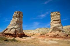 Μεγάλοι βράχοι των ποδιών ελεφάντων στη δυτική Αμερική Στοκ Εικόνες