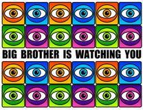 Μεγάλος Αδερφός Στοκ εικόνα με δικαίωμα ελεύθερης χρήσης