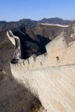 μεγάλος β τοίχος της Κίνα στοκ εικόνες