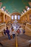 Μεγάλος κεντρικός σταθμός, Νέα Υόρκη ΗΠΑ Στοκ φωτογραφία με δικαίωμα ελεύθερης χρήσης