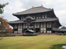 Μεγάλος ναός στην Ιαπωνία Στοκ εικόνες με δικαίωμα ελεύθερης χρήσης