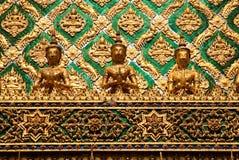 μεγάλος ναός Ταϊλάνδη παλ&alp Στοκ Εικόνες