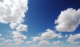 μεγάλος ουρανός σύννεφω&n Στοκ Εικόνα